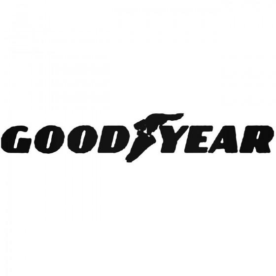 Goodyear Vinyl Decal