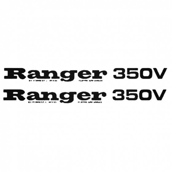 Ranger 350v Boat Kit Decal...