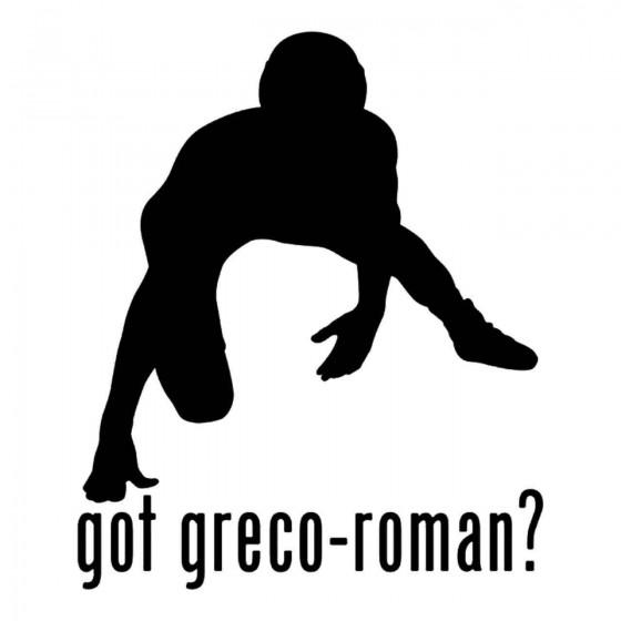 Got Greco Roman Wrestling 3...