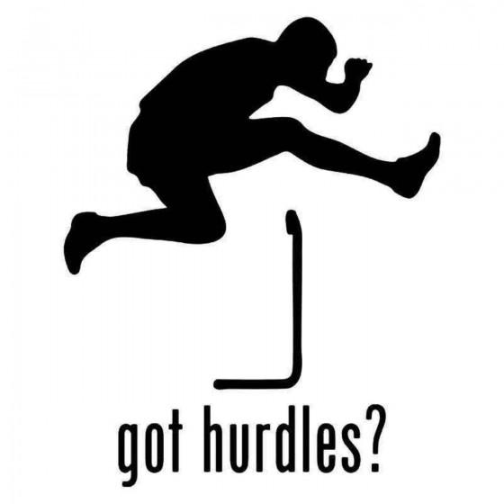 Got Hurdles Men Track Field...