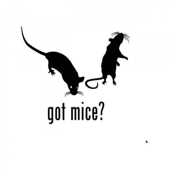Got Mice Pet Sticker