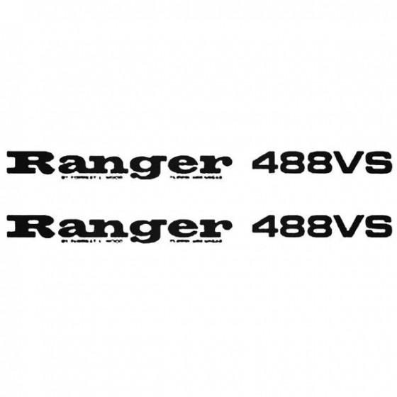 Ranger 488vs Boat Kit Decal...