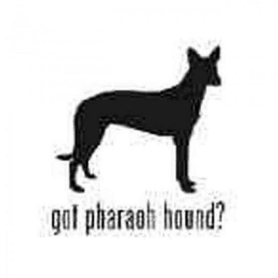 Got Pharaoh Hound Dog Decal...