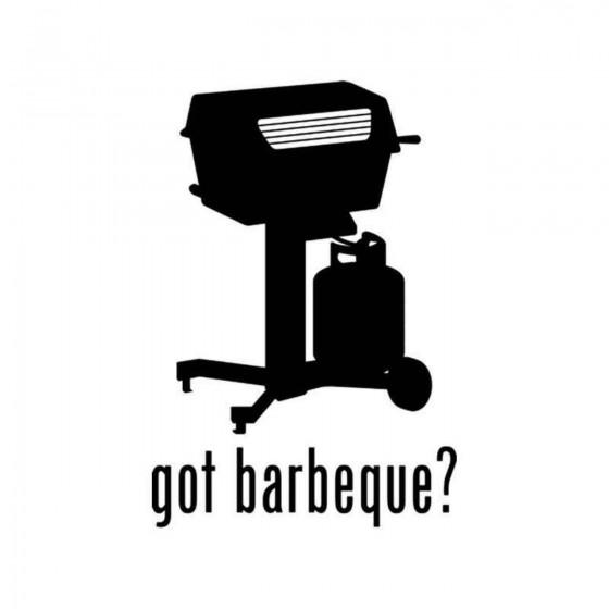 Got S Got Barbeque Decal