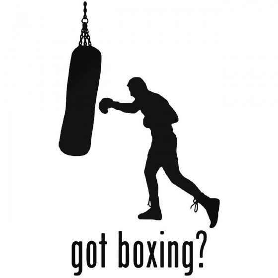Got S Got Boxing Style 1 Decal