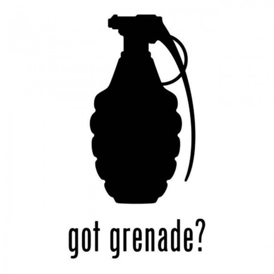 Got S Got Grenade Decal
