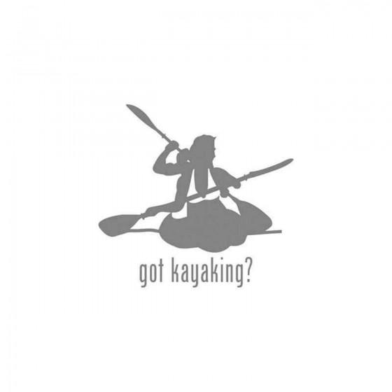 Got S Got Kayaking Style 2...