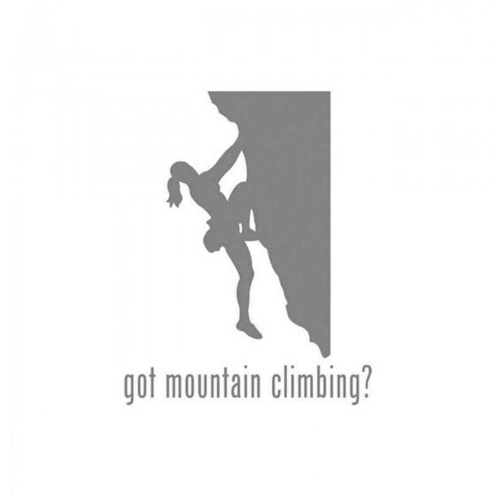Got S Got Mountain Climbing...