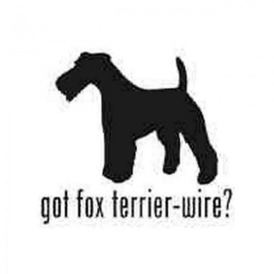 Got Wire Fox Terrier Dog 1...