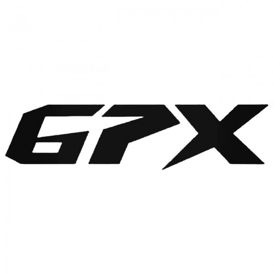 Gpx Decal Sticker