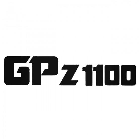 Gpz1100 Decal Sticker