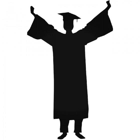 Graduation 1204 Sticker