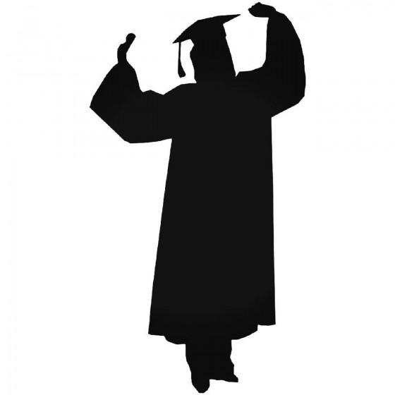 Graduation 1205 Sticker