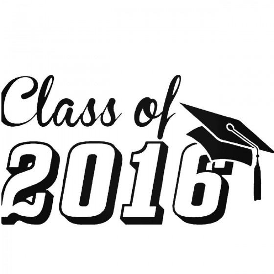 Graduation 2016 251 Sticker