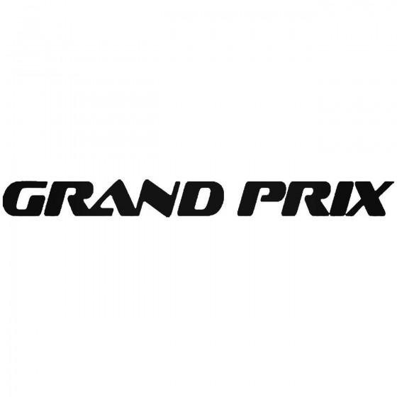 Grand Prix Sticker