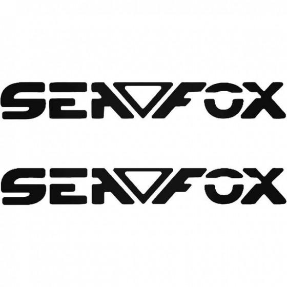 Sea Fox Boat Kit Decal Sticker