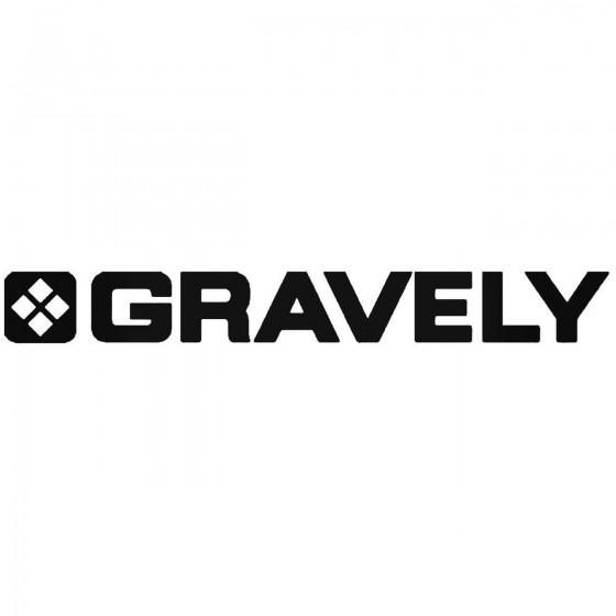 Gravely Logo Sticker