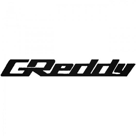 Greddy Vinyl Decal
