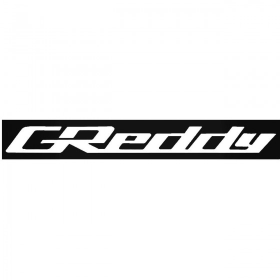 Greddy Windshield Banner...