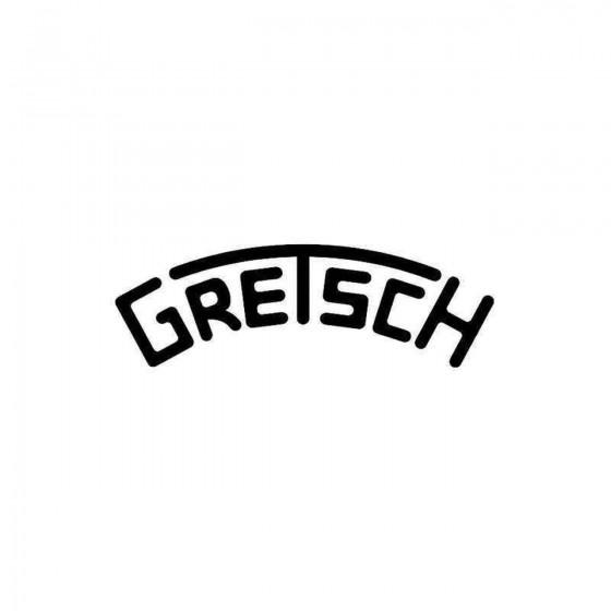 Gretsch Drums Vinyl Decal...