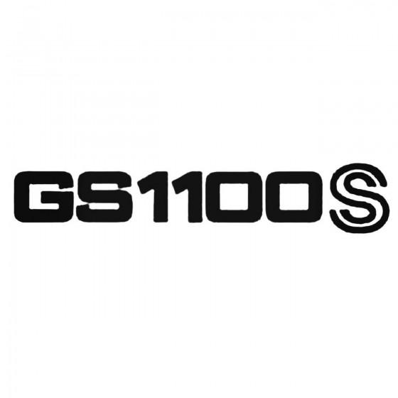 Gs1100s Decal Sticker