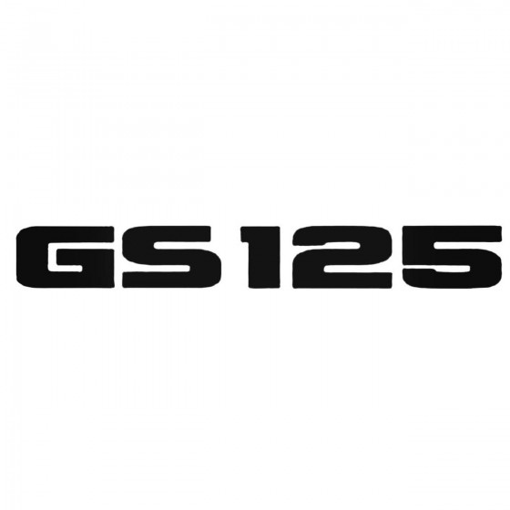 Gs125 Decal Sticker