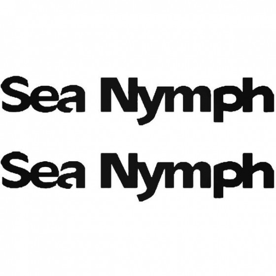 Sea Nymph Boat Kit Decal...