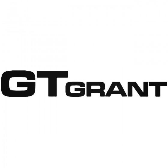 Gt Grant Sticker