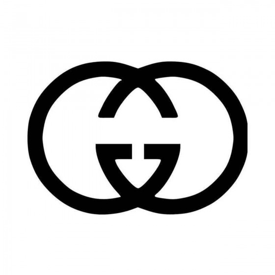 Guicci Logo Vinyl Decal...