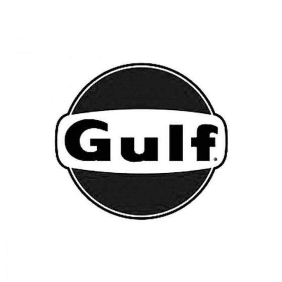 Gulf Vinyl Decal Sticker