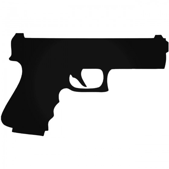 Gun S Handgun 9mm Guns Decal