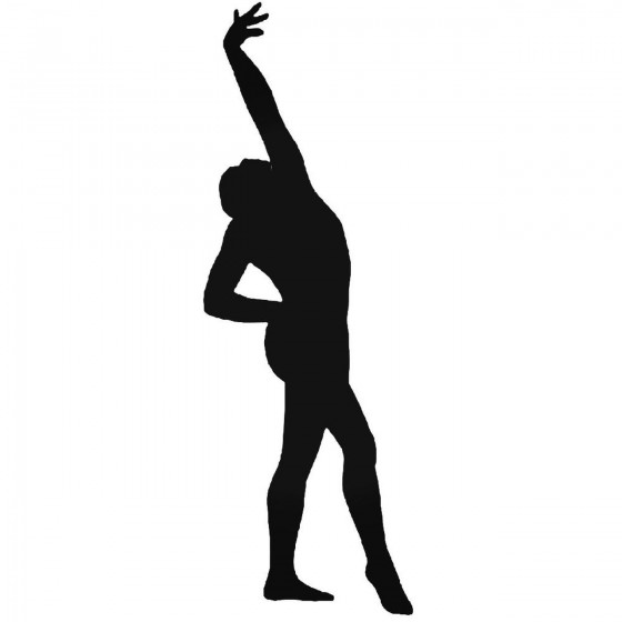 Gymnastics 3 Sticker