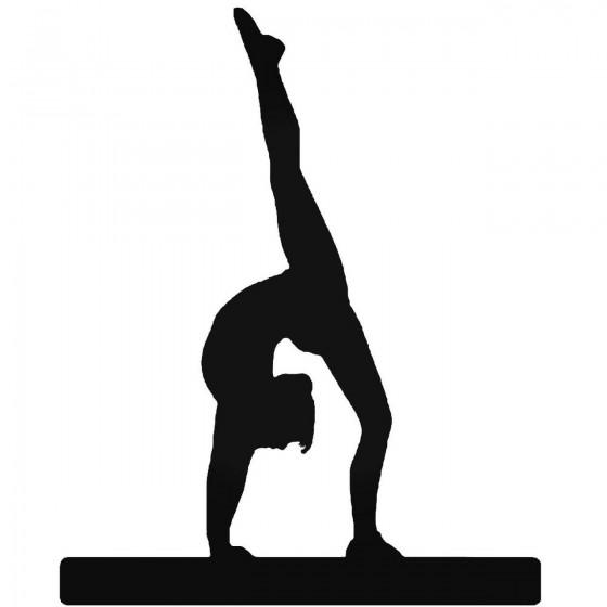 Gymnastics 4 Sticker
