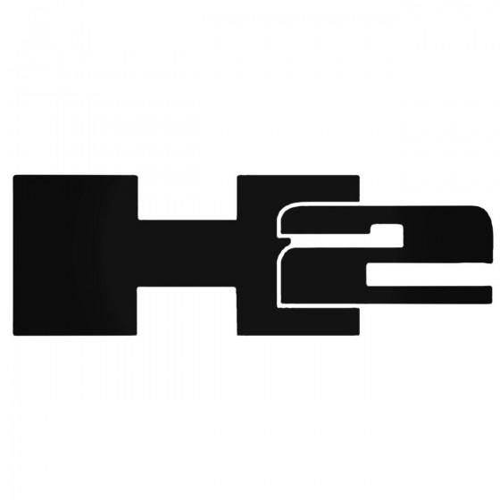 H2 Decal Sticker