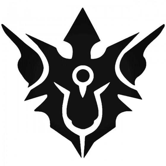 Hades Symbol Sticker