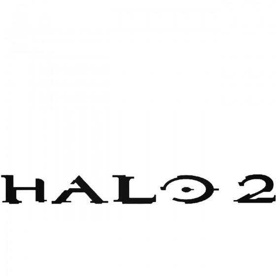 Halo 2 Logo Sticker