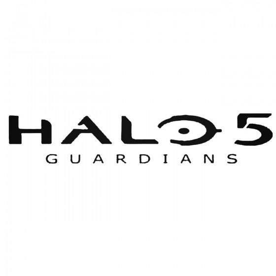 Halo 5 Guardians Logo Decal...