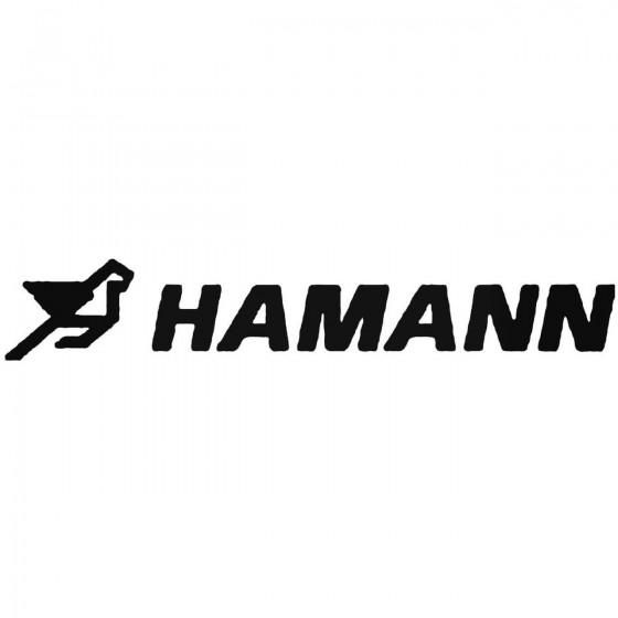 Hamann Vinyl Decal