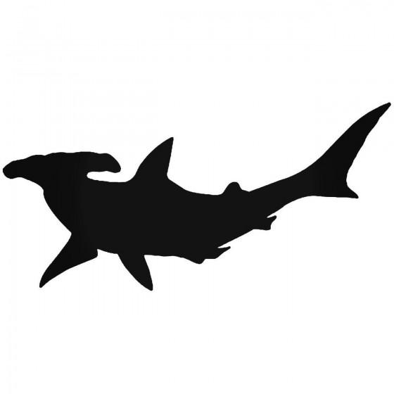 Hammerhead Shark 1 Sticker