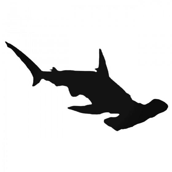 Hammerhead Shark Decal Sticker