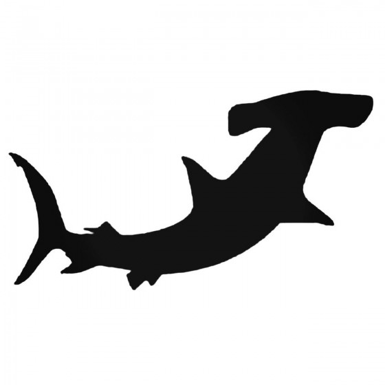 Hammerhead Shark Silhouette...