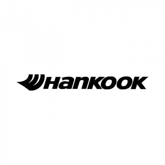 Hankook Vinyl Decal Sticker