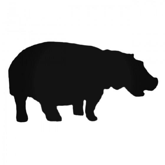 Happy Hippopotamus Decal...