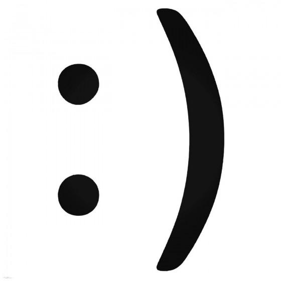 Happy Smiley Symbols Decal...