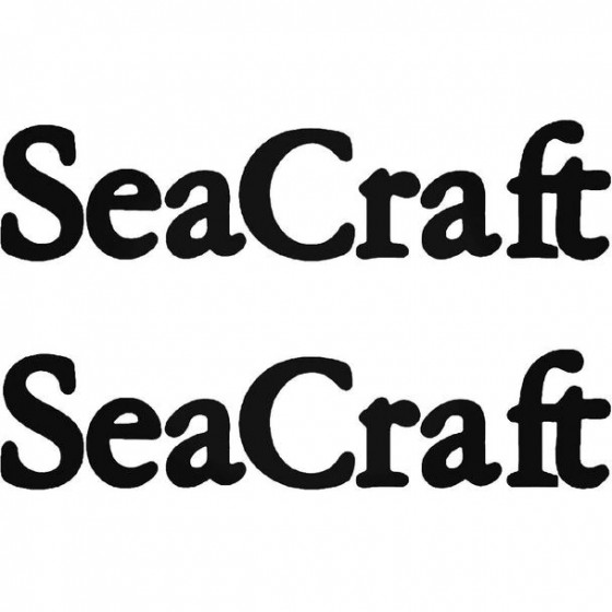 Seacraft S Boat Kit Decal...