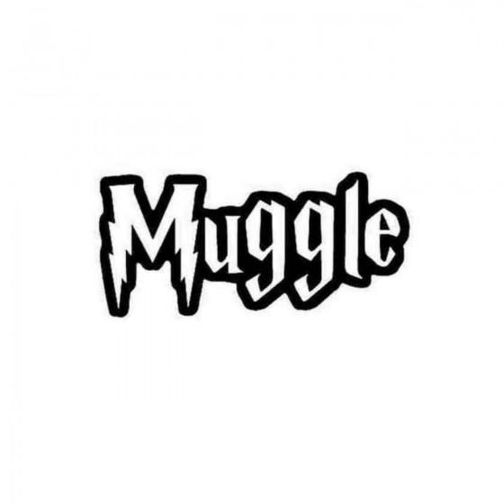 Harry Potter Muggle Decal...