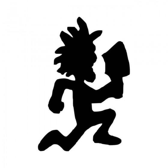 Hatchet Man Vinyl Decal...