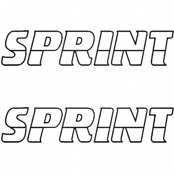 Sprint Boat Kit Decal Sticker