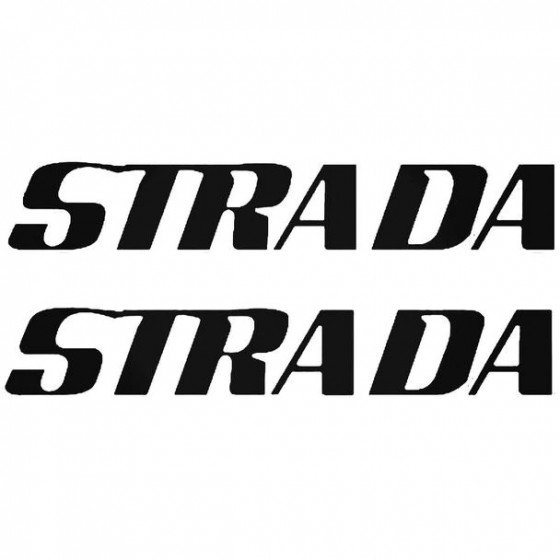 Strada Boat Kit Decal Sticker