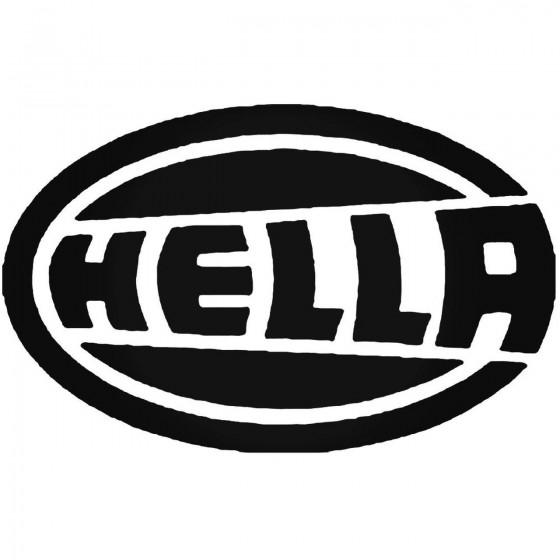Hella Vinyl Decal